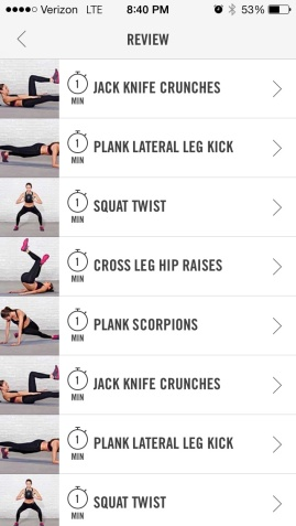 Ab workout