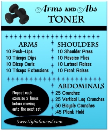 arms and abs workout