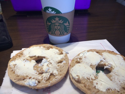 Starbucks Bagel