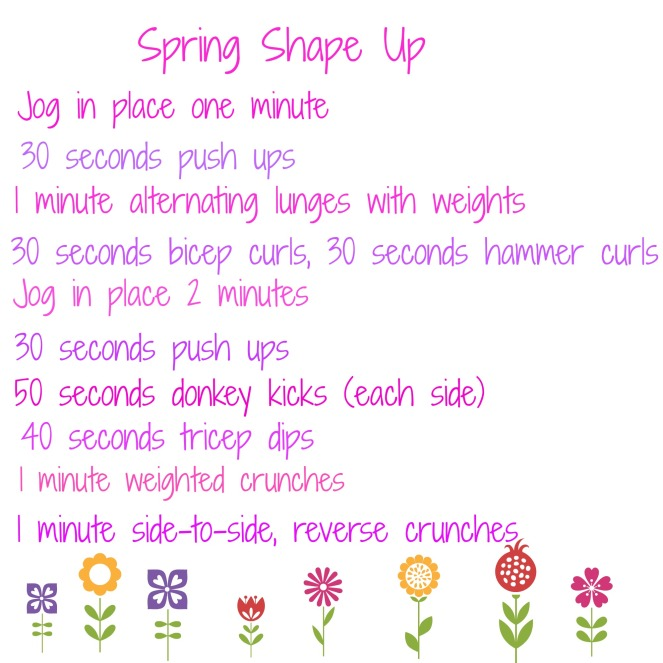 Spring Workout