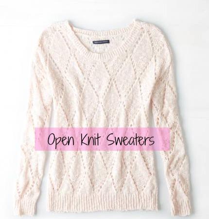 open-knit
