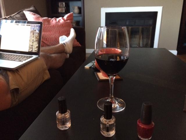 wine-nails