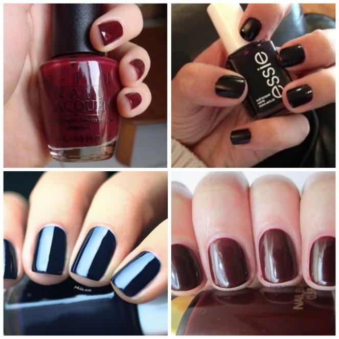 dark fall nail polish
