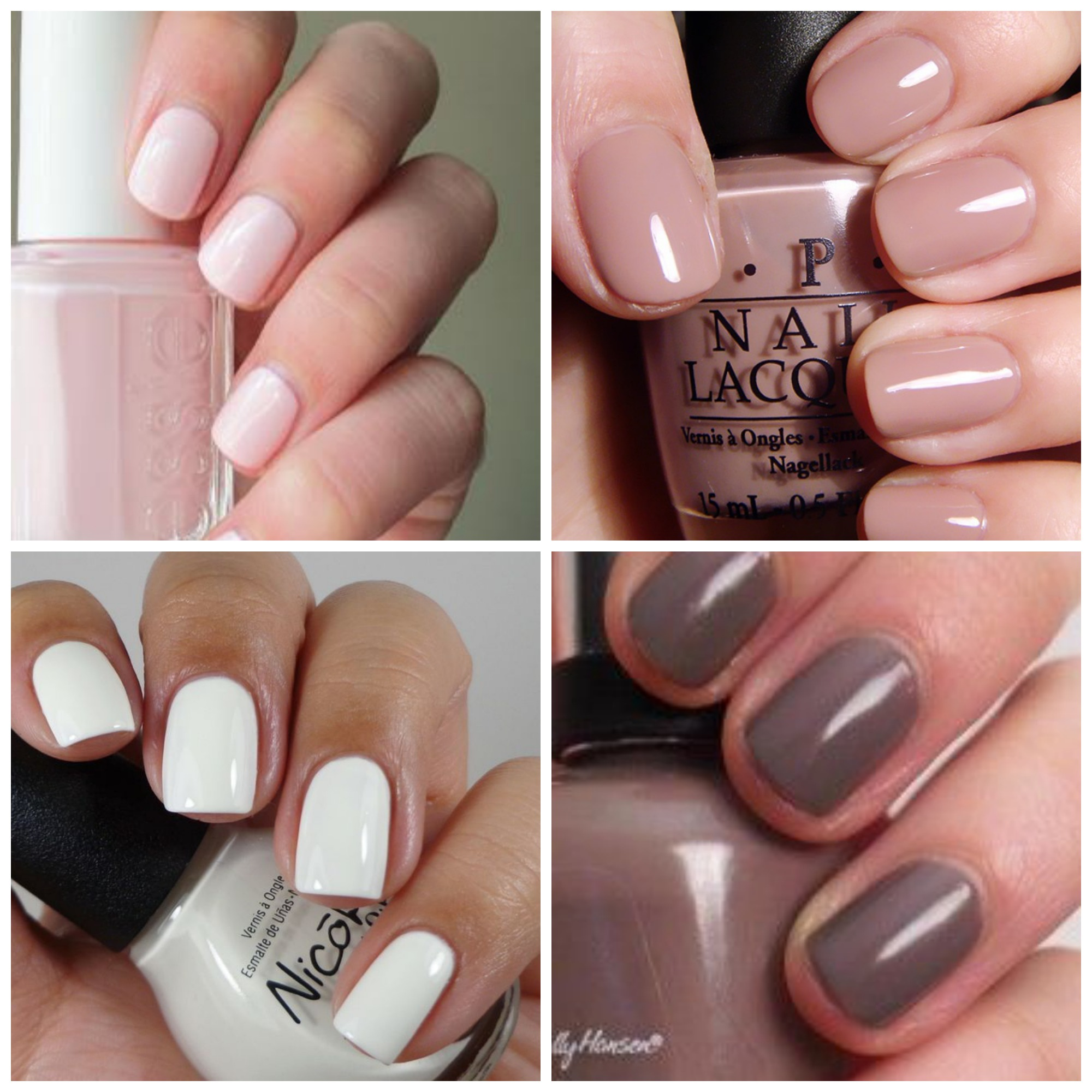 Neutral Fall Nail Polish