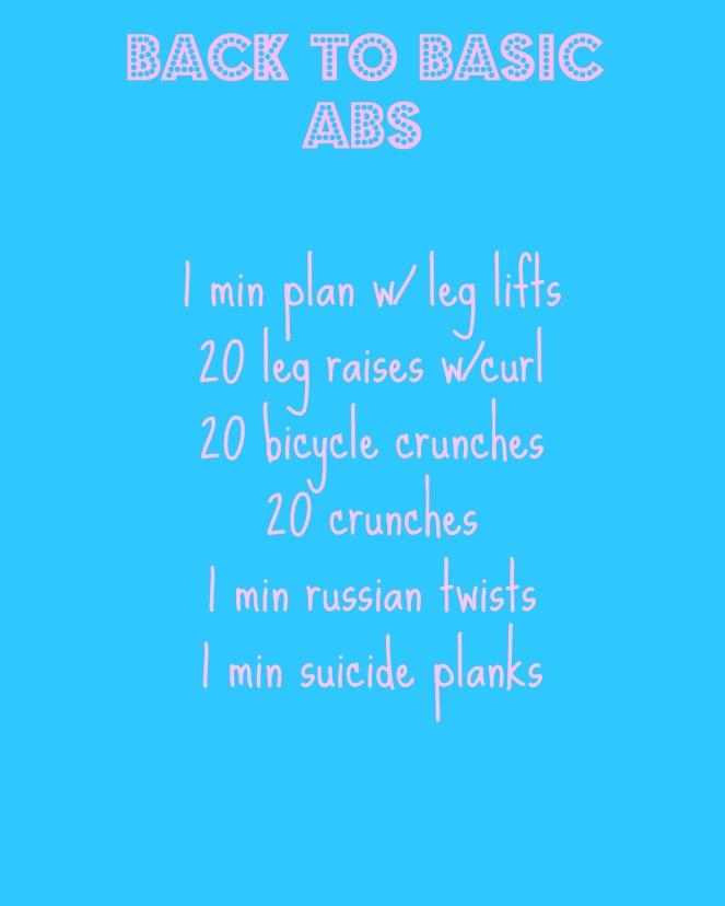 ab workout