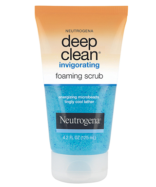 exfoliating face wash